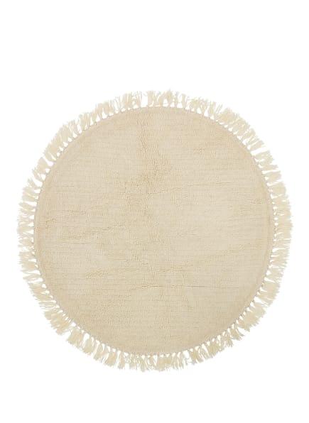 Bloomingville Teppich , Farbe: CREME (Bild 1)