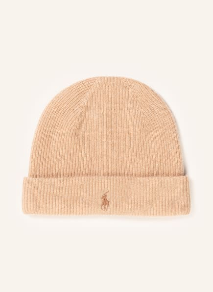 POLO RALPH LAUREN Cashmere-Mütze, Farbe: CAMEL (Bild 1)