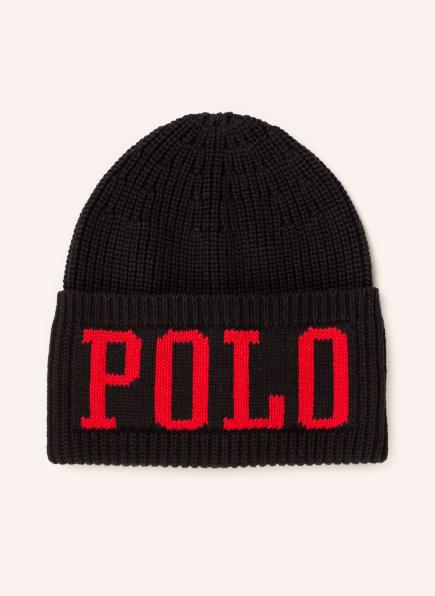 POLO RALPH LAUREN Mütze, Farbe: SCHWARZ/ ROT (Bild 1)