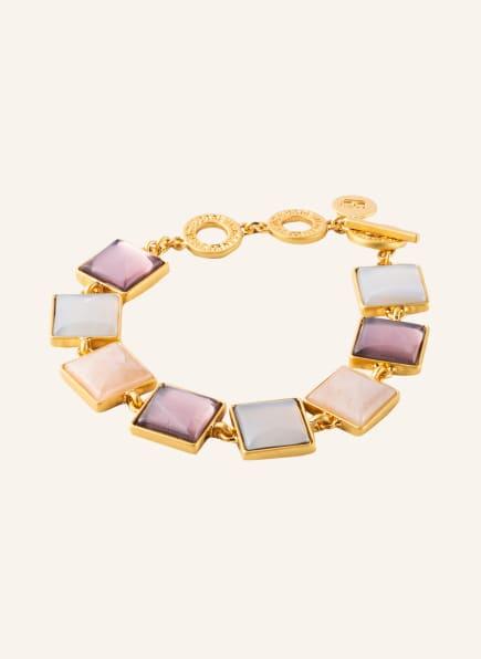 SENCE COPENHAGEN Armband, Farbe: GOLD/ HELLGRAU/ ALTROSA (Bild 1)
