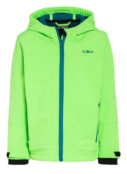 CMP Softshell-Jacke, Farbe: NEONGRÜN (Bild 1)