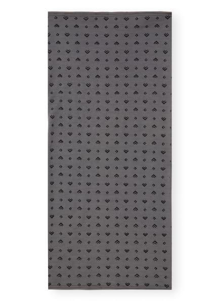 P.A.C. Multifunktionstuch aus Merinowolle, Farbe: GRAU/ SCHWARZ (Bild 1)