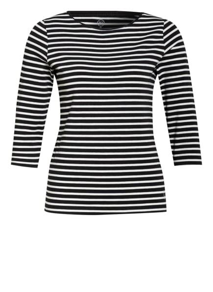BOVIVA Shirt mit 3/4-Arm, Farbe: SCHWARZ/ WEISS (Bild 1)