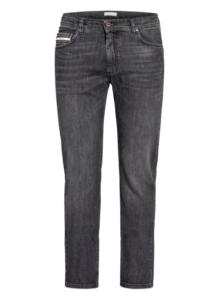 bugatti Jeans Modern Fit, Farbe: 284 dunkelgrau (Bild 1)