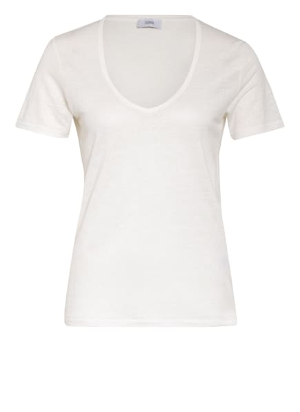 CLOSED T-Shirt aus Leinen, Farbe: ECRU (Bild 1)