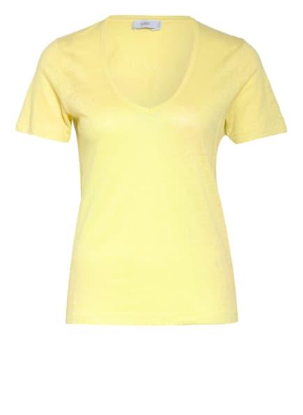CLOSED T-Shirt aus Leinen, Farbe: GELB (Bild 1)