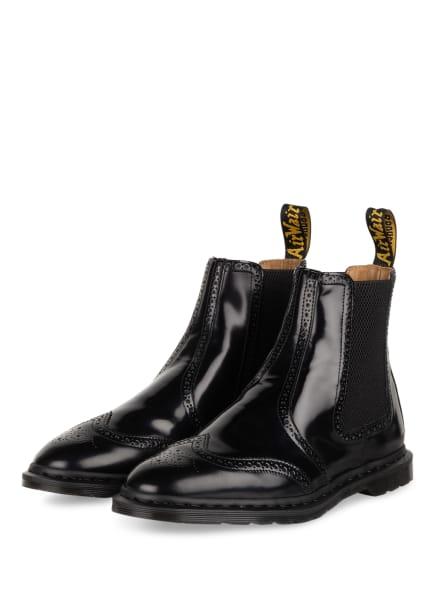 Dr. Martens Chelsea-Boots GRAEME BROGUE, Farbe: SCHWARZ (Bild 1)