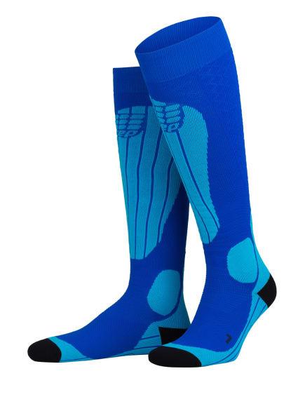 cep Skisocken THERMO, Farbe: 580 blue/azure (Bild 1)