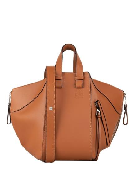 LOEWE Handtasche HAMMOCK SMALL, Farbe: COGNAC (Bild 1)