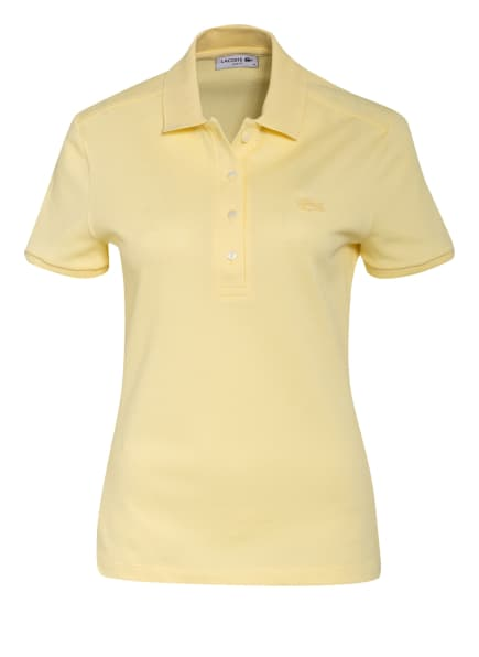 LACOSTE Piqué-Poloshirt Slim Fit, Farbe: GELB (Bild 1)
