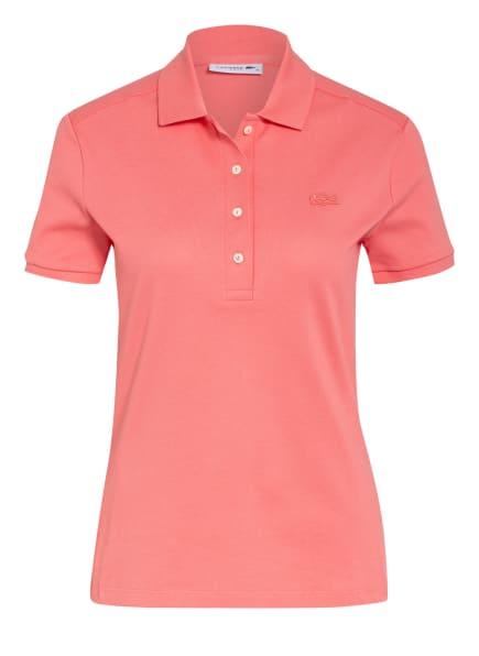 LACOSTE Piqué-Poloshirt Slim Fit, Farbe: HELLROT (Bild 1)