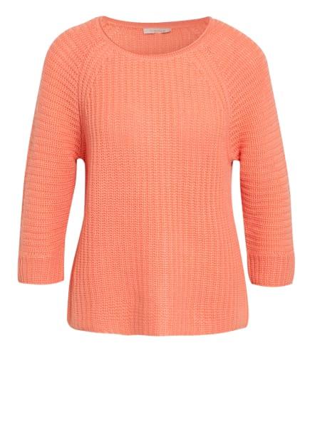 lilienfels Cashmere-Pullover mit 3/4-Arm, Farbe: LACHS (Bild 1)