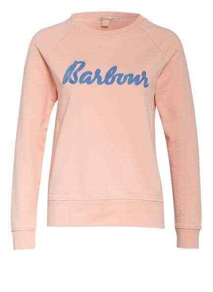 Barbour Sweatshirt OTTERBURN, Farbe: HELLROSA (Bild 1)
