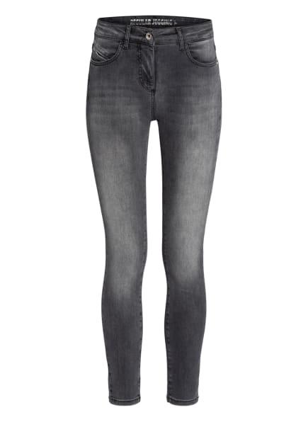PATRIZIA PEPE Skinny Jeans, Farbe: S606 WASHED MID GREY (Bild 1)