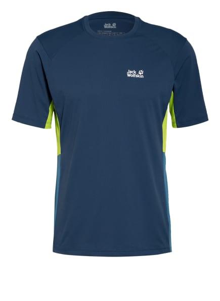 Jack Wolfskin T-Shirt NARROWS, Farbe: BLAU (Bild 1)