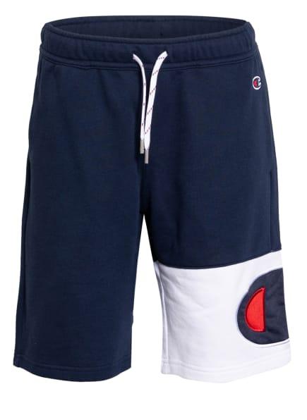 Champion Sweatshorts, Farbe: DUNKELBLAU/ WEISS/ ROT (Bild 1)
