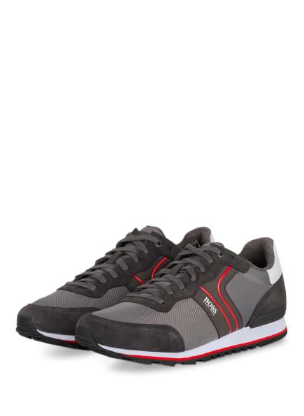 BOSS Sneaker PARKOUR RUNN, Farbe: DUNKELGRAU/ GRAU (Bild 1)
