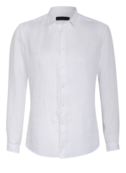 DRYKORN Leinenhemd RUBEN Slim Fit, Farbe: WEISS (Bild 1)