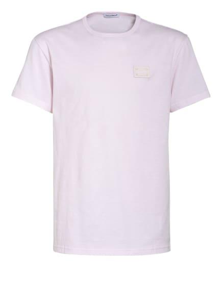 DOLCE&GABBANA T-Shirt, Farbe: HELLROSA (Bild 1)