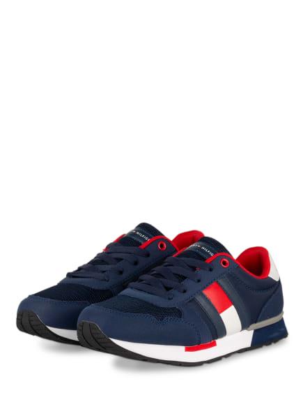 TOMMY HILFIGER Sneaker, Farbe: BLAU/ ROT/ WEISS (Bild 1)