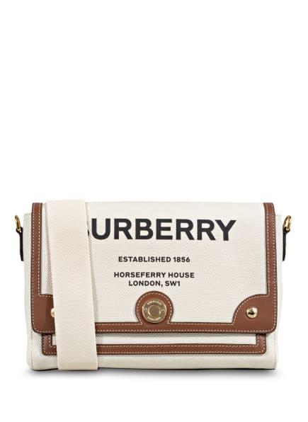 BURBERRY Umhängetasche NOTE, Farbe: CREME/ BRAUN (Bild 1)