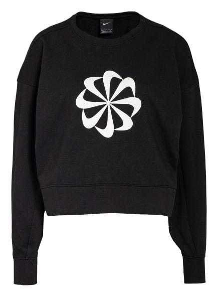 Nike Cropped-Sweatshirt , Farbe: SCHWARZ/ WEISS (Bild 1)