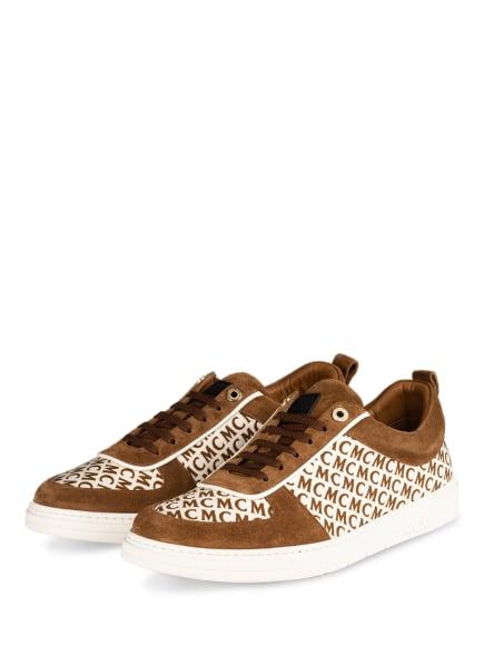MCM Sneaker, Farbe: HELLBRAUN/ CREME (Bild 1)