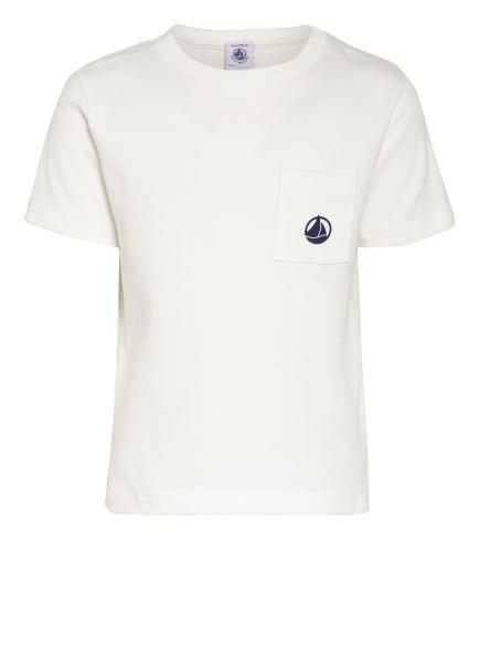 PETIT BATEAU T-Shirt, Farbe: WEISS/ BLAU (Bild 1)