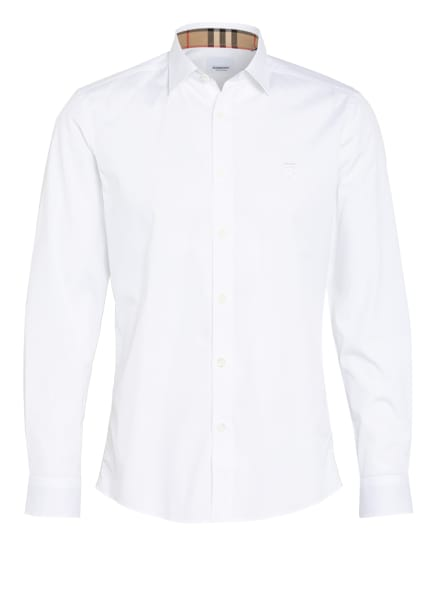BURBERRY Hemd Slim Fit, Farbe: WEISS (Bild 1)