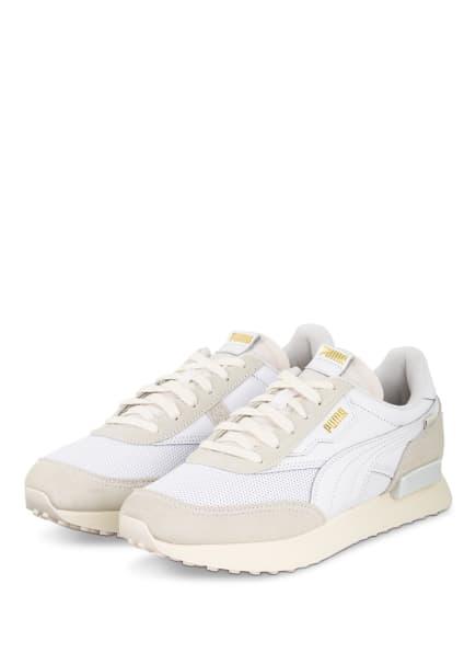 PUMA Sneaker FUTURE RIDER LUXE, Farbe: WEISS/ CREME (Bild 1)