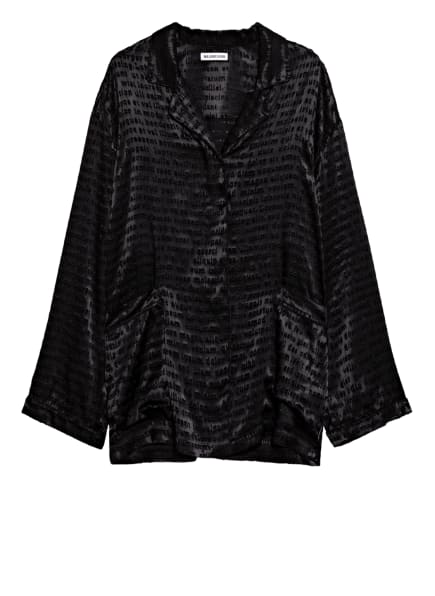 BALENCIAGA Oversized-Bluse , Farbe: SCHWARZ (Bild 1)