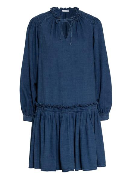 CLOSED Jeanskleid KARI mit Rüschenbesatz, Farbe: DBL DARK BLUE (Bild 1)