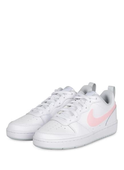 Nike Sneaker COURT BOROUGH LOW 2, Farbe: WEISS/ ROSA/ HELLBLAU (Bild 1)