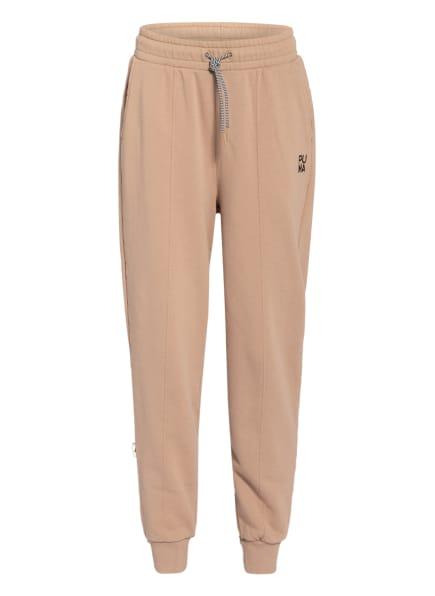 PUMA Sweatpants INFUSE, Farbe: BEIGE/ SCHWARZ (Bild 1)