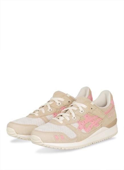ASICS Sneaker GEL-LYTE™ III OG, Farbe: CREME/ BEIGE/ ROSA (Bild 1)