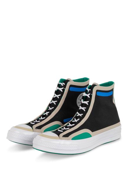CONVERSE Hightop-Sneaker DIGITAL TERRAIN CHUCK 70, Farbe: SCHWARZ/ CREME/ GRÜN (Bild 1)