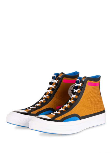 CONVERSE Hightop-Sneaker DIGITAL TERRAIN CHUCK 70, Farbe: SCHWARZ/ PINK/ COGNAC (Bild 1)
