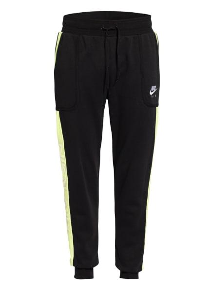 Nike Sweatshorts AIR, Farbe: SCHWARZ/ HELLGELB (Bild 1)