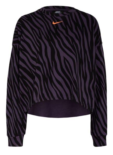 Nike Oversized-Sweatshirt SPORTSWEAR ICON CLASH, Farbe: DUNKELLILA/ SCHWARZ (Bild 1)
