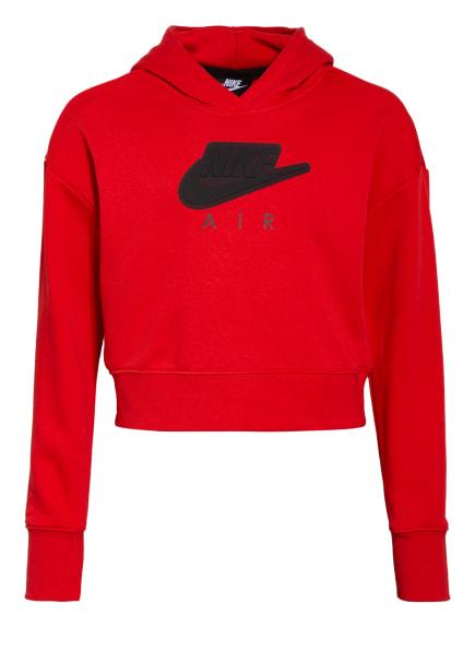Nike Cropped-Hoodie AIR, Farbe: ROT (Bild 1)