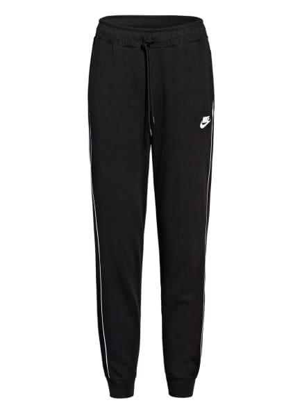 Nike Fitnesshose MILLENNIUM, Farbe: SCHWARZ/ WEISS (Bild 1)