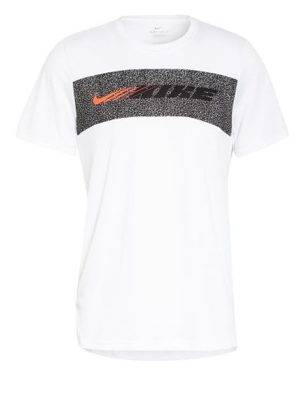 Nike T-Shirt SUPERSET SPORT CLASH, Farbe: WEISS/ SCHWARZ (Bild 1)