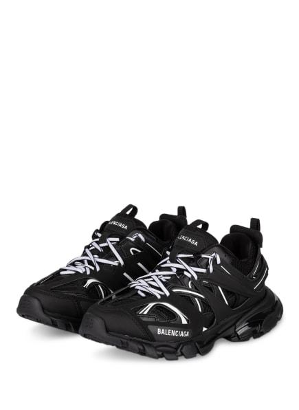 BALENCIAGA Plateau-Sneaker TRACK, Farbe: SCHWARZ/ WEISS (Bild 1)