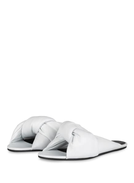 BALENCIAGA Pantoletten DRAPY, Farbe: WEISS (Bild 1)