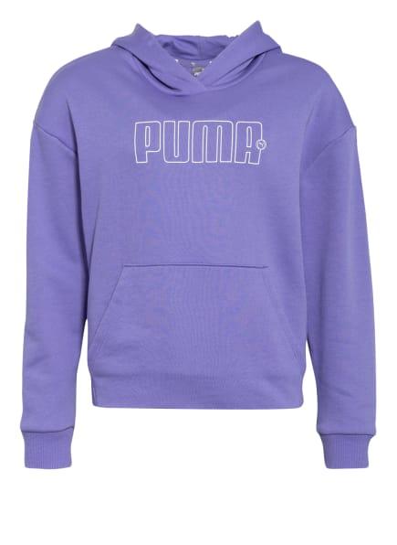 PUMA Hoodie , Farbe: LILA/ WEISS (Bild 1)