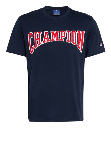 Champion Trainingsshirt, Farbe: DUNKELBLAU/ ROT (Bild 1)