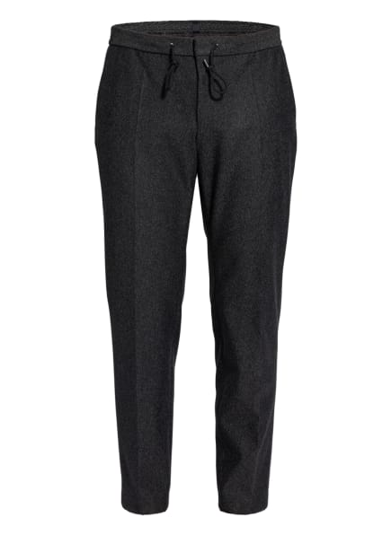 BOSS Anzughose BANKS im Jogging-Stil Slim Fit, Farbe: 001 BLACK (Bild 1)