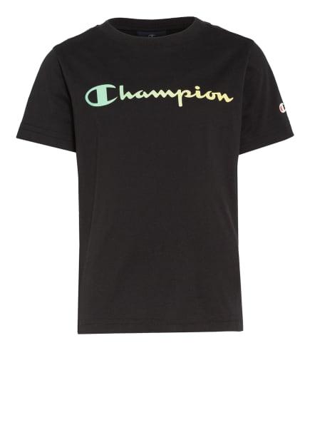 Champion T-Shirt, Farbe: SCHWARZ (Bild 1)
