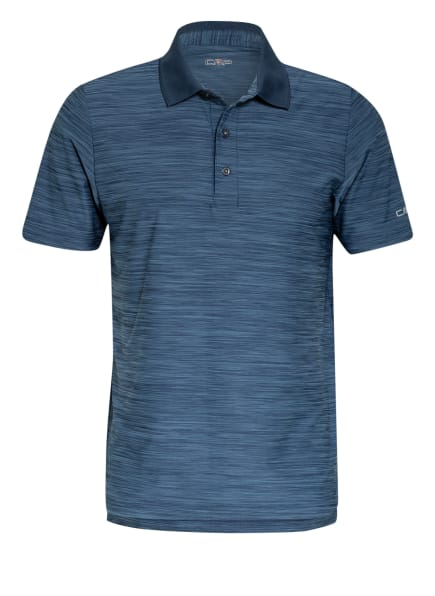 CMP Funktions-Poloshirt, Farbe: BLAU/ DUNKELBLAU (Bild 1)