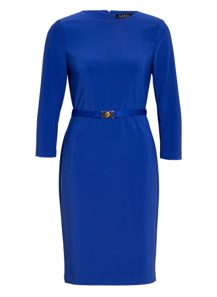 LAUREN RALPH LAUREN Kleid ROMEE mit 3/4-Arm, Farbe: BLAU (Bild 1)